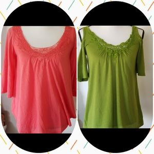 Bundle of 2 Maternity tops Small Inspire